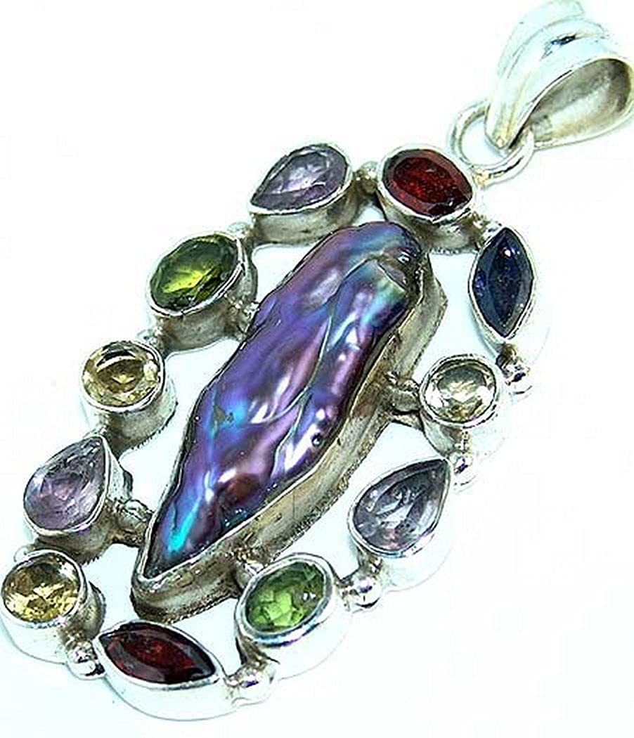 Nathis Biwa Pearl Mixed Faceted Stones