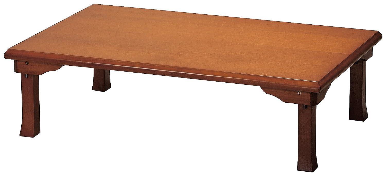 座卓(折脚) ブラウン 120cm B008VL64R8 Parent