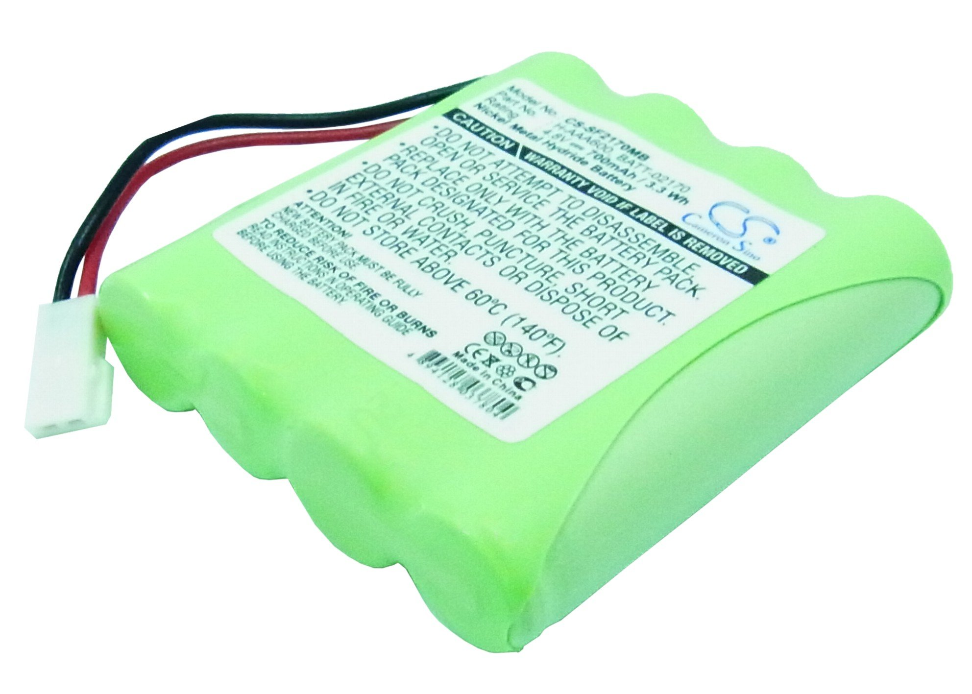 Cameron Sino Replacement Battery for Summer Baby 02170 Video Monitor, 02174 Video Monitor, 02320 Video Monitor, H-AAA600, H-AAA700, Infant 02170 by Cameron Sino