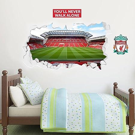 Wandtattoos Wandbilder Liverpool Anfield Stadium Wall Decal Window 3d Sticker Decor Mural Soccer Ma Urg Mobel Wohnen Blog Vr Com Br