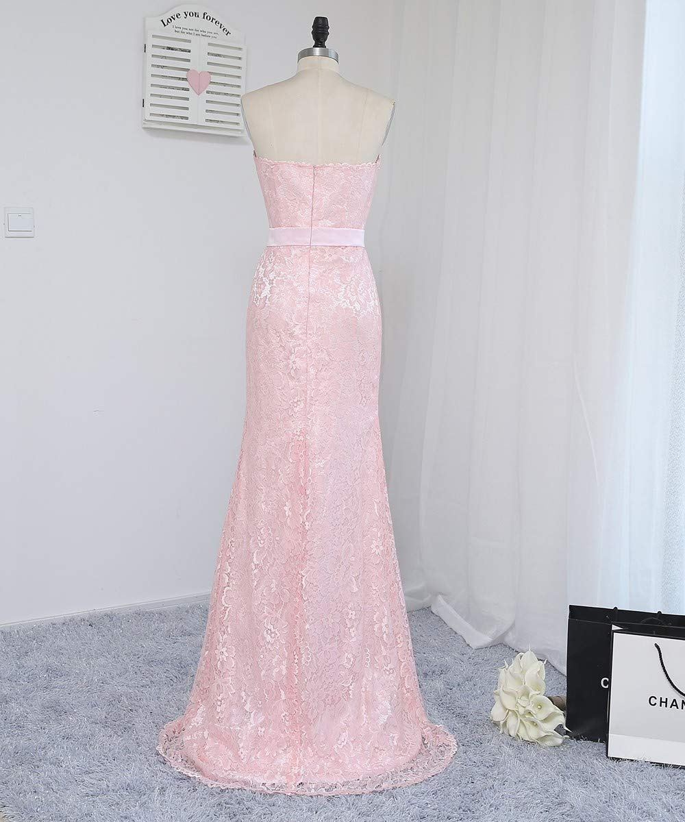 f387709037c Pink Long Party Dress