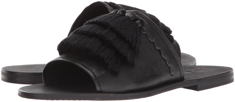 FRYE Women's Riley Tassel Slide Sneaker B074QT14M8 6 B(M) US|Black