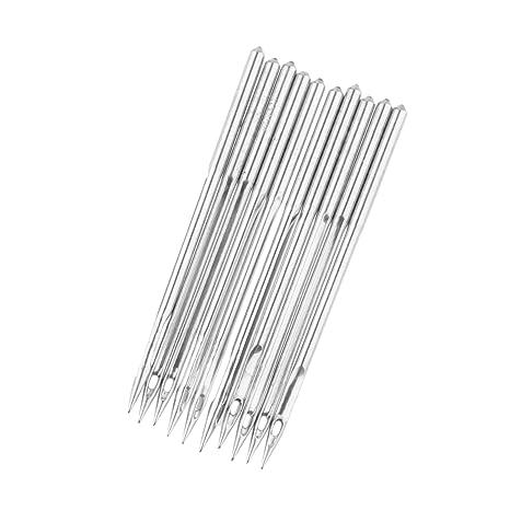 10 agujas DB1 para máquina de coser industrial para JUKI DDL-555 Singer Brother