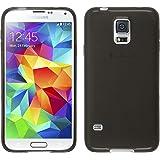 PhoneNatic Custodia Samsung Galaxy S5 Neo Cover nero trasparente Galaxy S5 Neo in silicone + pellicola protettiva
