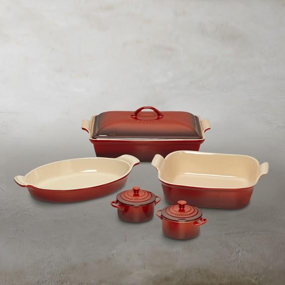 Le Creuset Stoneware 8-Piece Bakeware Set | Williams-Sonoma