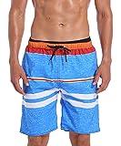 Milankerr Men's Swim Trunk Board Shorts