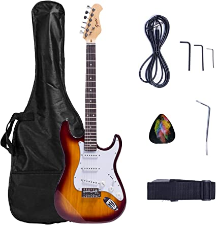 2019 - Cuerpo de guitarra eléctrica Grote con bolsa para guitarra ...