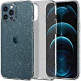 Spigen [Liquid Crystal Glitter] Designed for iPhone 12 Pro Max Case Cover 6.7 inch (2020) - Crystal Quartz