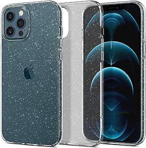 Spigen Liquid Crystal Glitter Designed for iPhone 12 Pro Max Case (2020) - Crystal Quartz