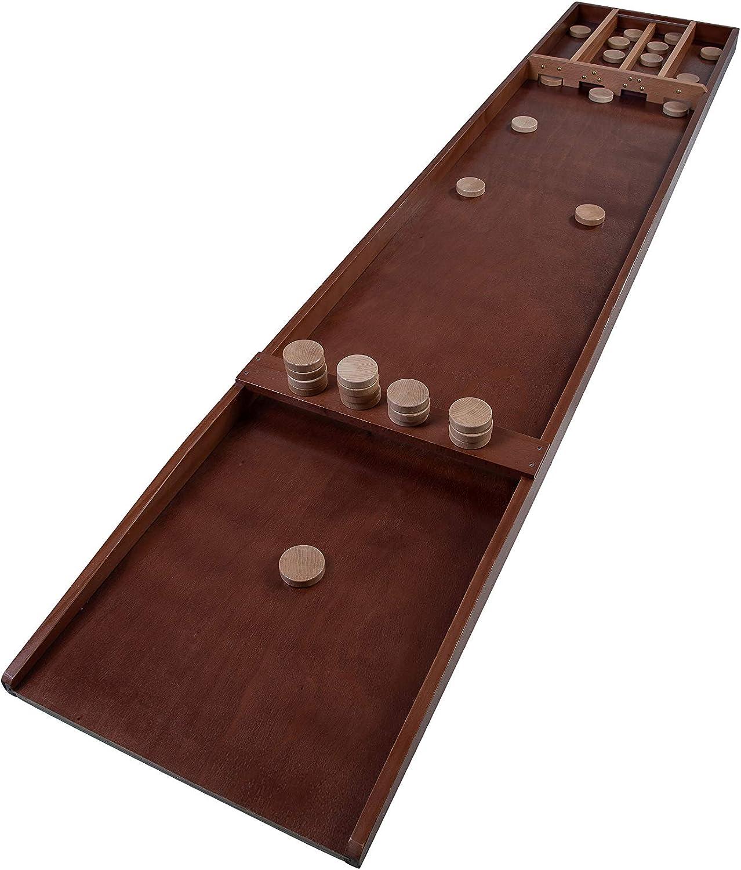 Engelhart Billar holandés o tejo de Madera, Acabados de Primera Calidad. Hecho de Madera de Haya, Incluye 30 Discos. Dimensiones: 200 cm x 41 cm x 7 cm: Amazon.es: Juguetes y juegos