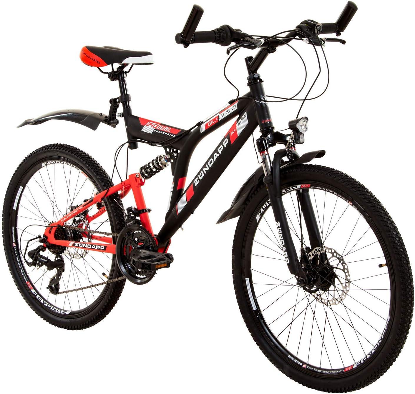 Zundapp Mountainbike Fully 24 Zoll Full Suspension Mtb Fahrrad