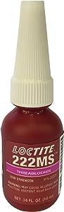 Loctite 22221 Purple 222MS Low Strength Thread Locker, 10 mL Bottle