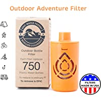Outdoor Microbiological Bottle Filter   Replacement Filter for Ultimate Outdoor Travel Bottle   100 Gallon Filter Life…