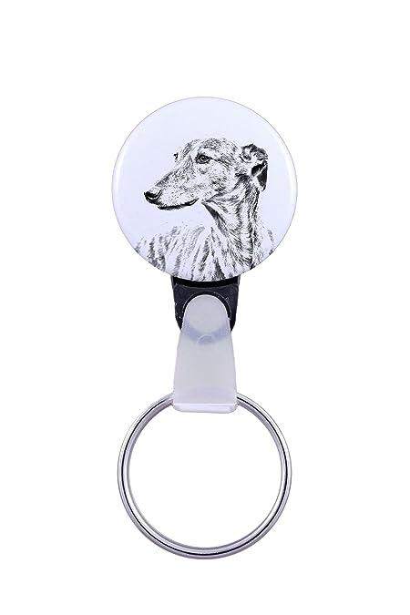 ArtDog Ltd. Galgo, un Llavero con un Perro: Amazon.es: Joyería