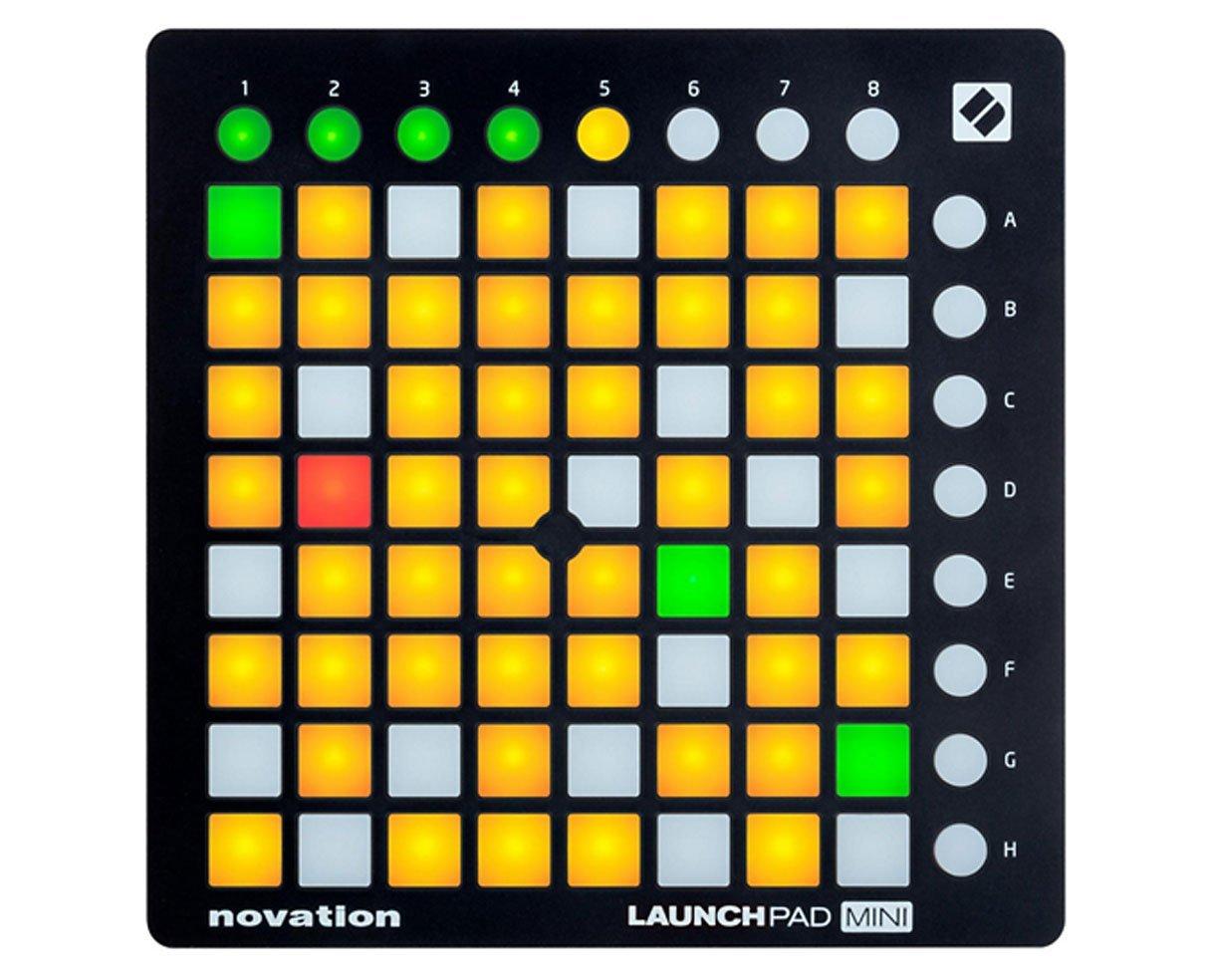 Novation LAUNCHPAD MINI MK2 MKII REFURB B3 USB MIDI DJ Controller 64-Pad (Renewed) by Novation
