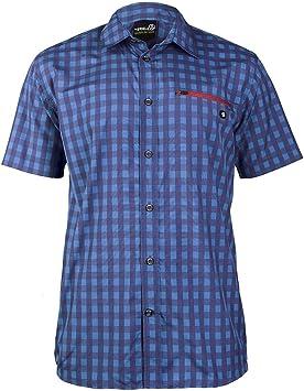 Camisa de hombre Ternua Kinloch/1481097-6114 de senderismo para hombre camisa azul: Amazon.es: Deportes y aire libre