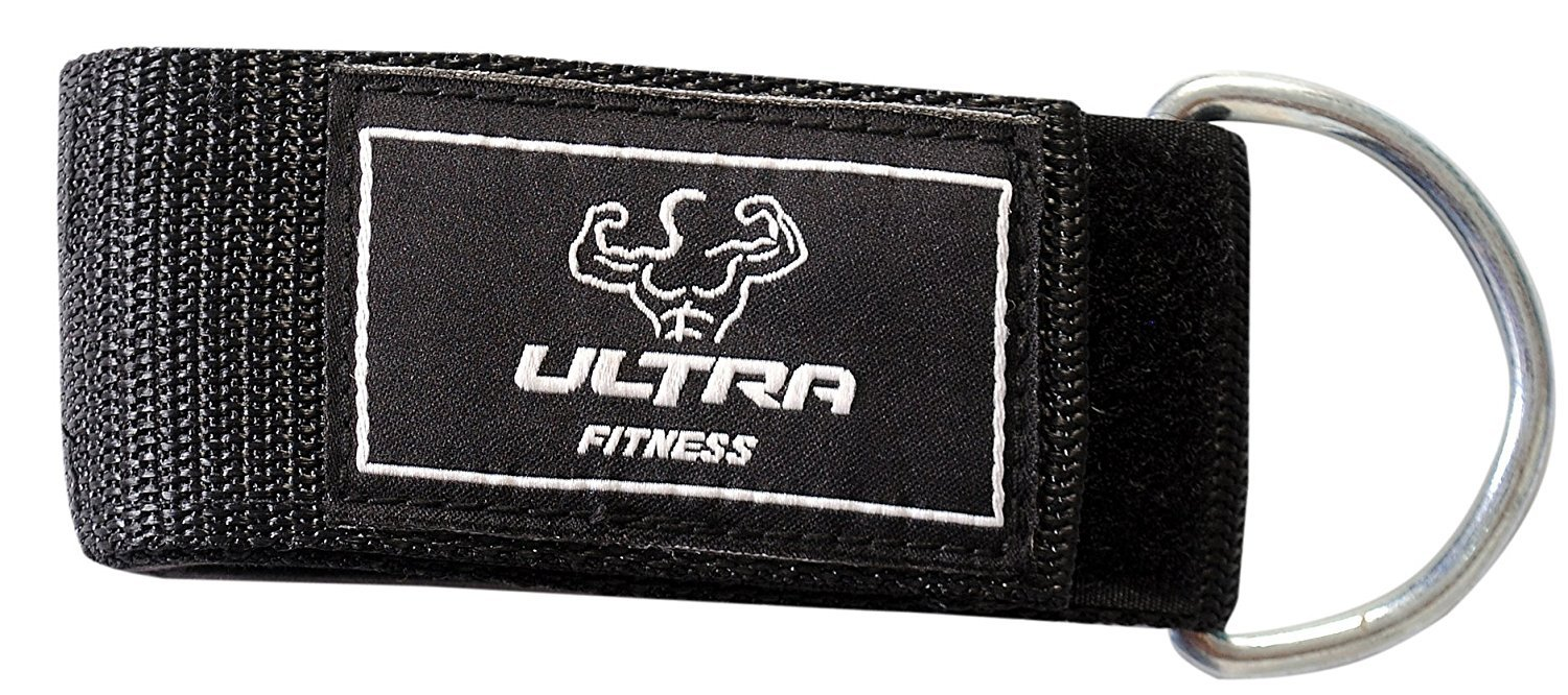 Ultra Fitness Correa de tobillo D Ring Multi gimnasio Cable de fijación