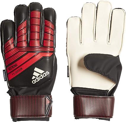 7ccc0d22cadb adidas Predator 18 Fingersave Junior Kids Goalkeeper Glove Black Red - 4