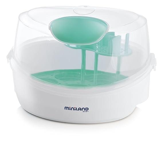 Miniland Micro Warmy - Esterilizador de microondas: Amazon.es: Bebé