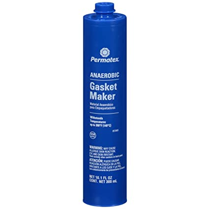 Permatex 51845 Anaerobic Gasket Maker, 300 ml Cartridge