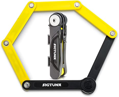 Amazon.com: Candado plegable para bicicletas Sigtuna ...