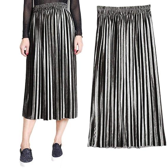Faldas Mujer Casual Moda De Verano Falda Mujer Faldas Mode De ...