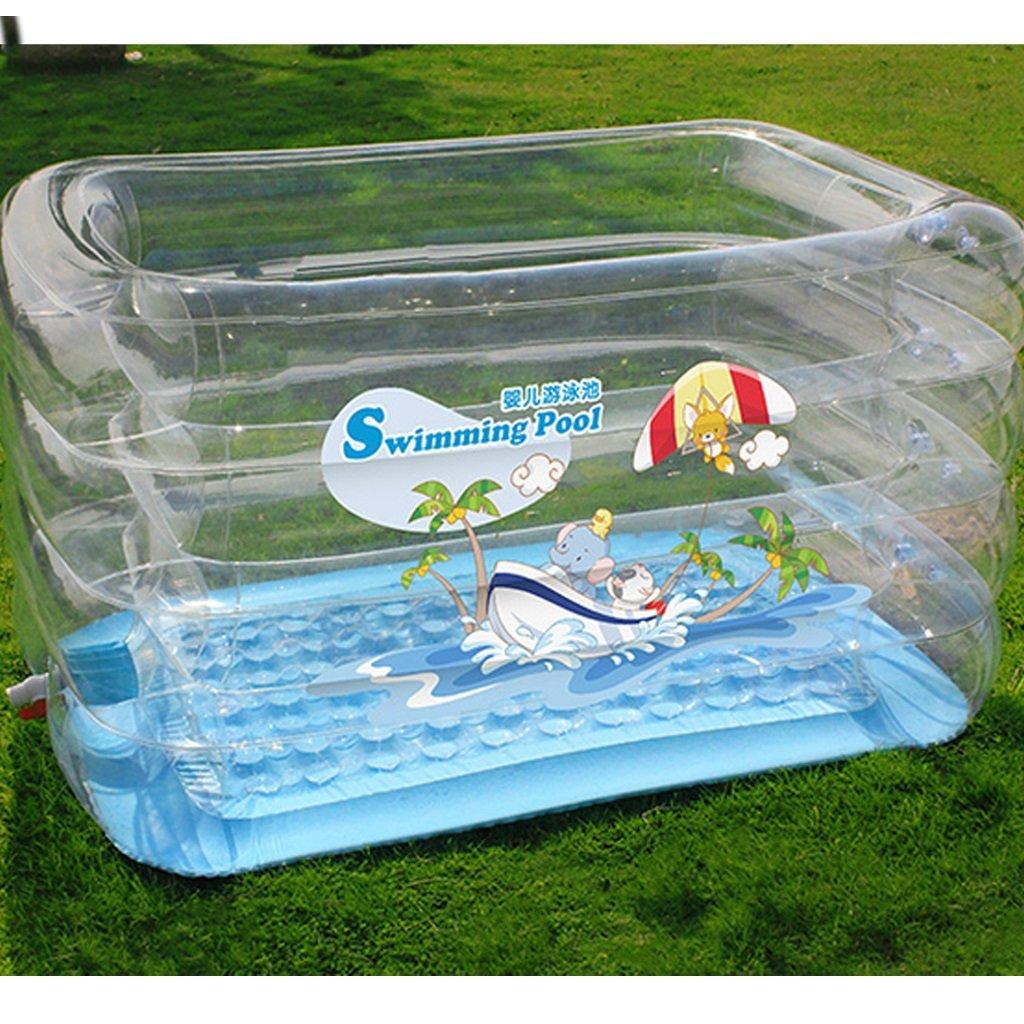 HzhiH-Bañeras y asientos de baño Piscina para Bebés Inflable para Bebés Piscina para Niños Espesada Piscina para Niños Piscina Familiar Bañera: Amazon.es: ...