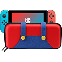 SWEE Carrying Case Compatible with Nintendo Switch - Protective Hard Shell Portable Travel Carry Case Bag for Nintendo…