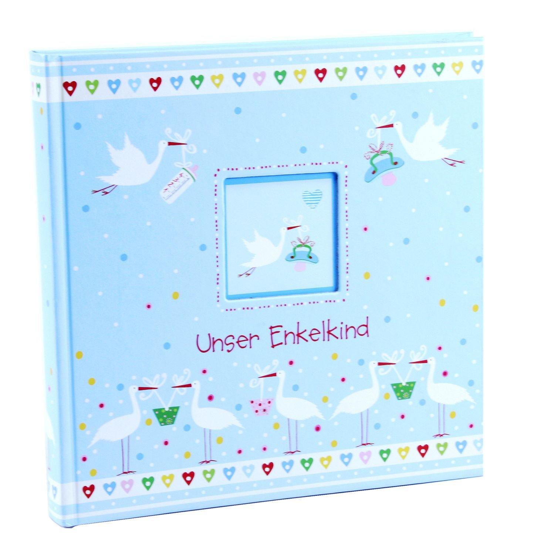 Enkelkindalbum Little me blau Goldbuch 24385