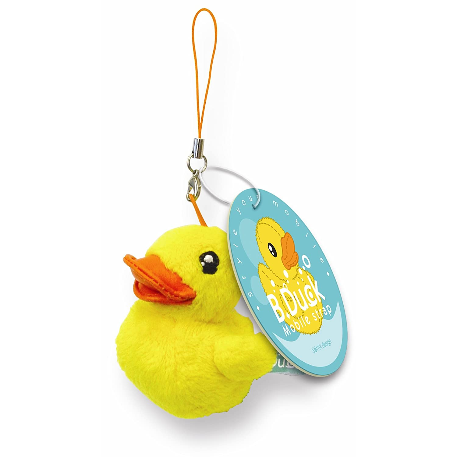 B.Duck Mobile Accessory (6.5cm) Yellow Semk 1803161