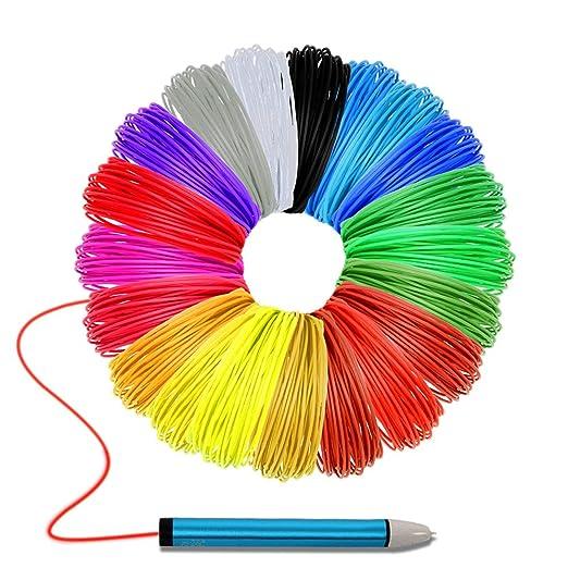 Filamento de la impresora 3D Pen, Recargas de filamento de Maigel ...