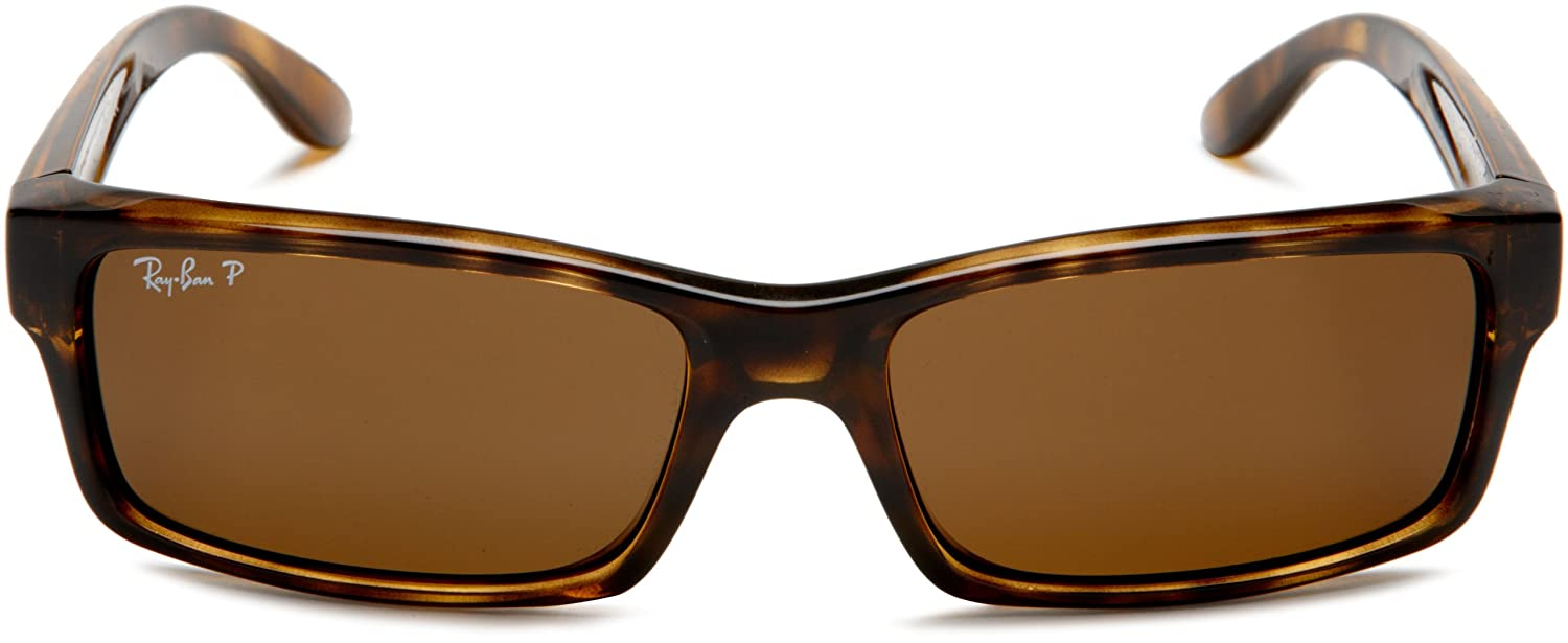 f3ad06ccead Amazon.com  Ray-Ban RB4151 - LIGHT HAVANA Frame CRYSTAL BROWN POLARIZED  Lenses 59mm Polarized  Ray-Ban  Clothing