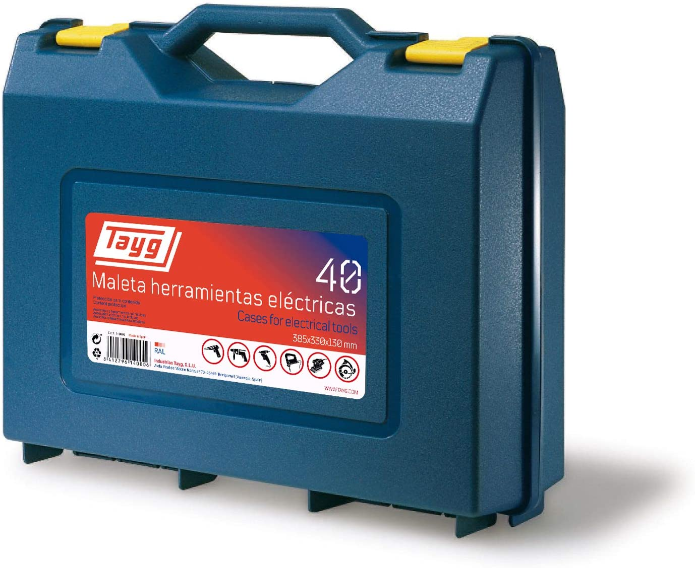 Tayg - Maleta herramientas eléctricas nº 40: Amazon.es: Bricolaje ...