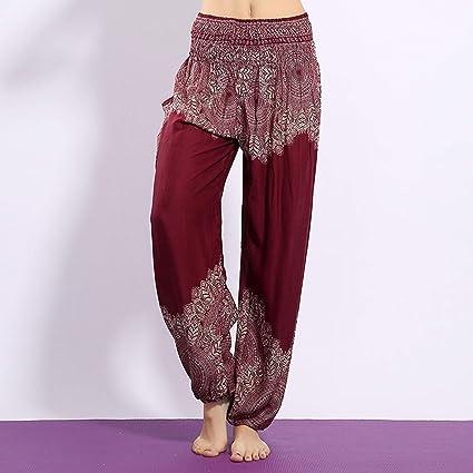 MAOMEI Pantalones de Yoga de Hoja tailandesa, Bloomers, Ropa ...