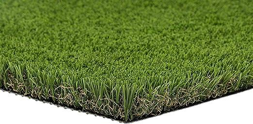 Pet Zen jardín Premium Deluxe – césped Artificial parche w/agujeros de drenaje y goma Felpudo |