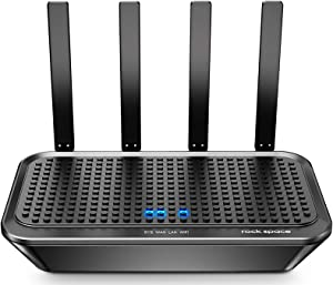 WiFi Router-Router, AC2100 Router, Wireless Router, Dual-Band Smart WiFi Router, Computer Router, Wireless Router Gaming, Support MU-MIMO&Beamforming, One SSID Simple Setup&APP Control