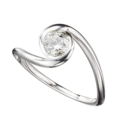 Amazon Com Moissanite Engagement Ring By Majade Non