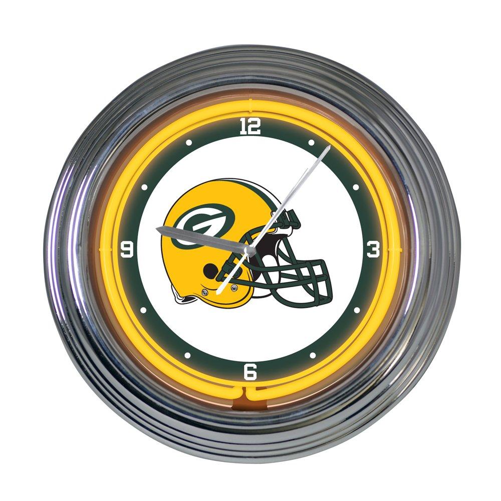 Green Bay Packers 15 inch Neon Clock