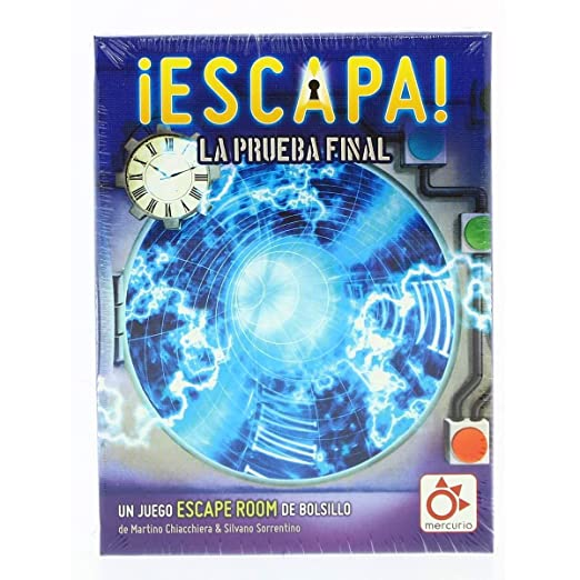 Mercurio Ediciones - Escapa: La prueba Final