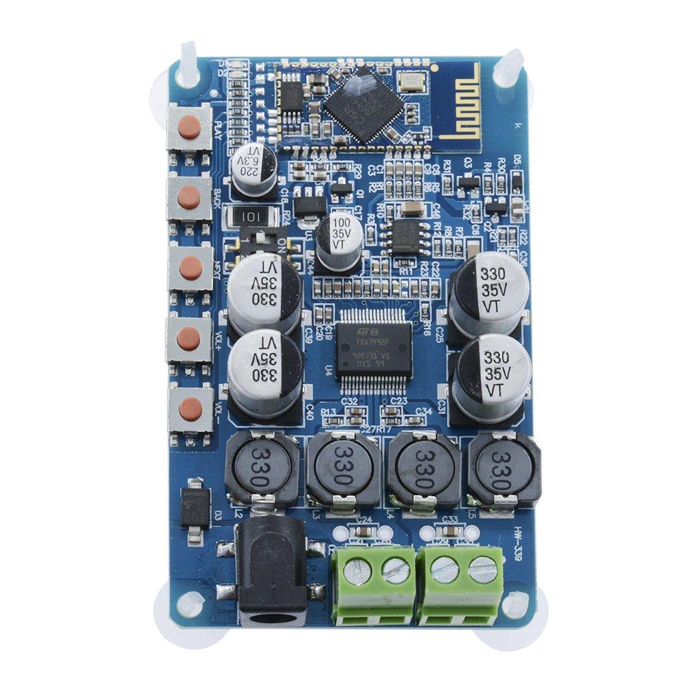 50W Zweikanalverst/ärker Wireless Digital Bluetooth 4.0 Audio Receiver Verst/ärkerplatine DIY Modul diymore Verst/ärkermodul TDA7492P 50W