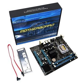 Kongqiabona G31 Motherboard, Tarjeta Madre Dual-Core 771 ...