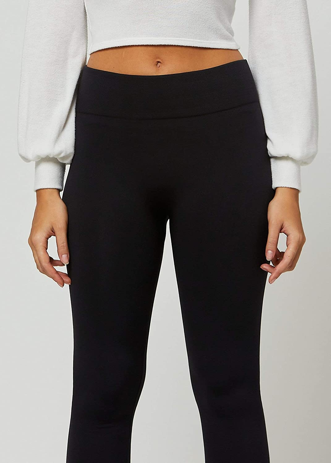 Premium Women's Fleece Lined Leggings - High Waist - Regular and Plus Size - 20+ Colors at  Women's Clothing store