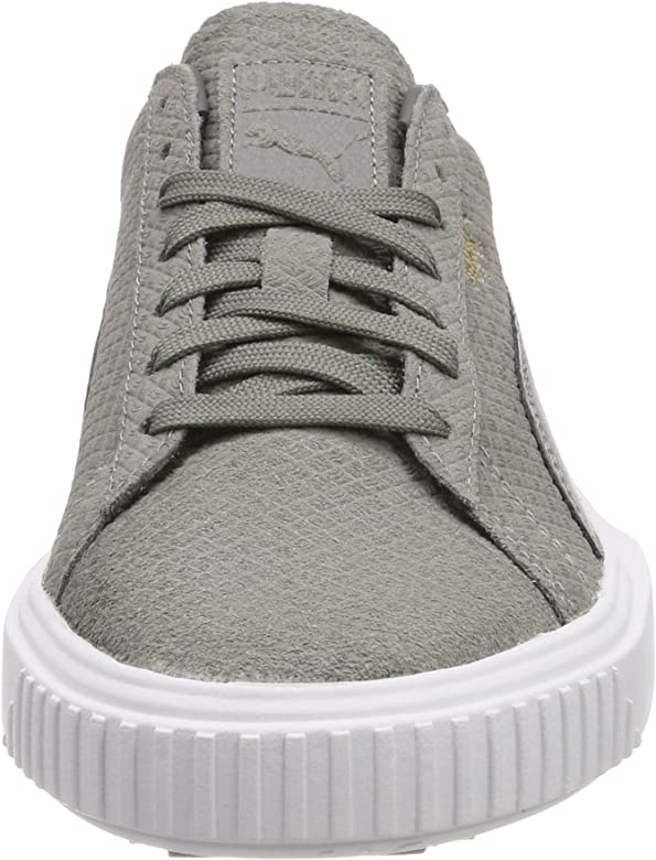 PUMA Breaker Suede, Zapatillas Unisex Adulto, Gris (Charcoal Gray White-Charcoal Gray), 38 EU: Amazon.es: Zapatos y complementos