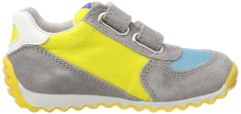 Naturino Deven, Sneaker Bambino, Multicolore (Piombo-Azzurro-Arancio 9104), 23 EU