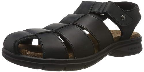 274b1d743c3 Panama Jack Sauron, Sandalias Punta Cerrada para Hombre: Amazon.es: Zapatos  y complementos