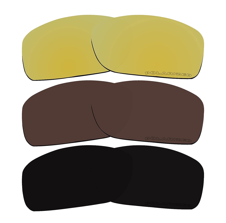 3 pares de lentes polarizadas de repuesto para gafas de sol Oakley ...