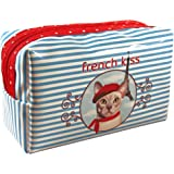 """Pochette Trousse maquillage Chat """"French Kiss"""""""