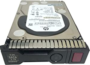 HP 658102-001 2TB 6G SATA 7.2K 3.5IN SC MDL HDD - 658079-B21 (Renewed)