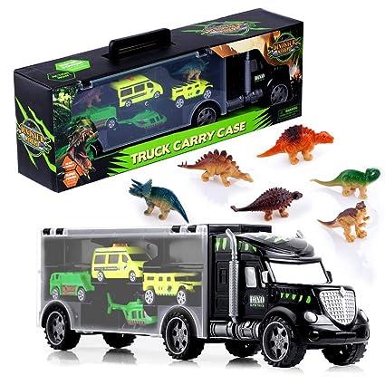Amazon.com: Gifts2U Dinosaur Transportador de Coche Camión ...