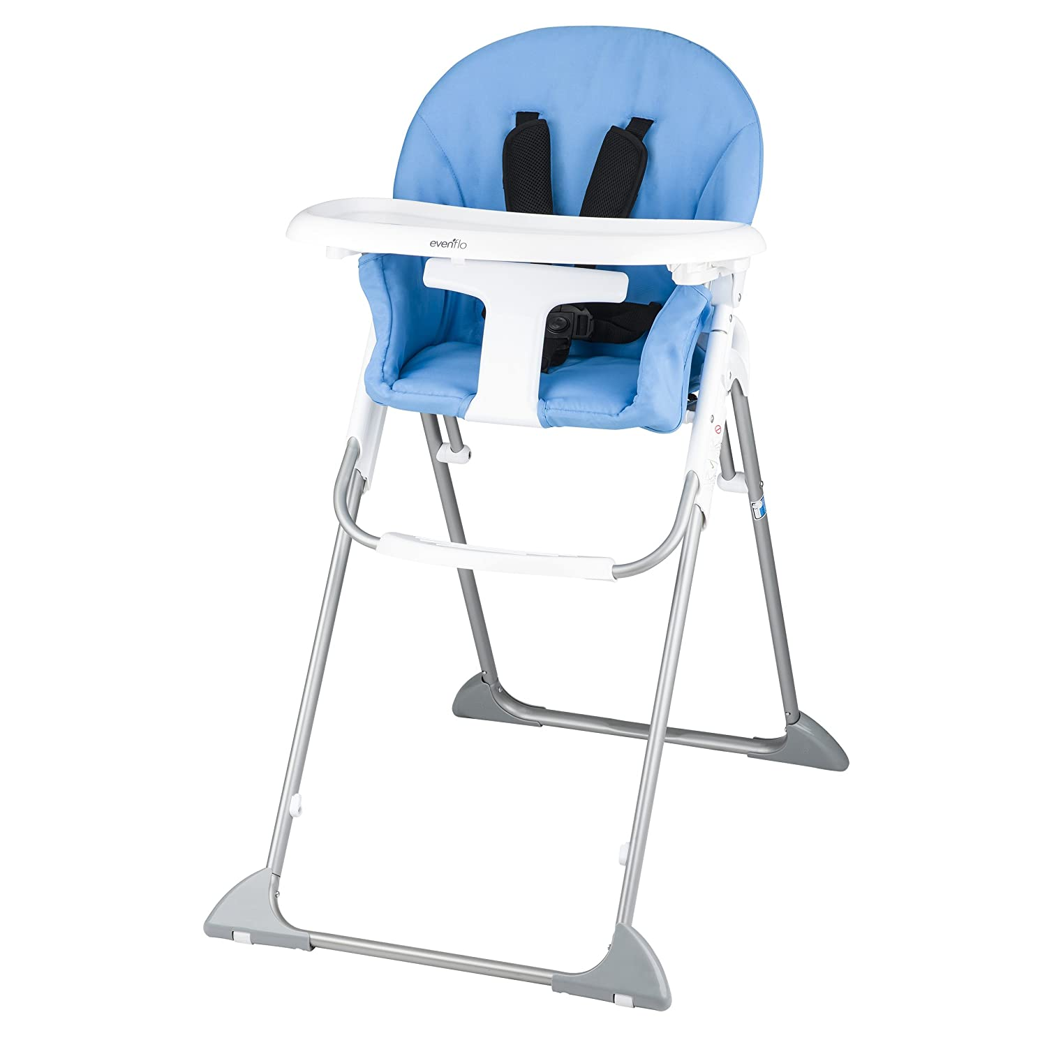 Amazon Evenflo Clifton High Chair Sky Blue Baby
